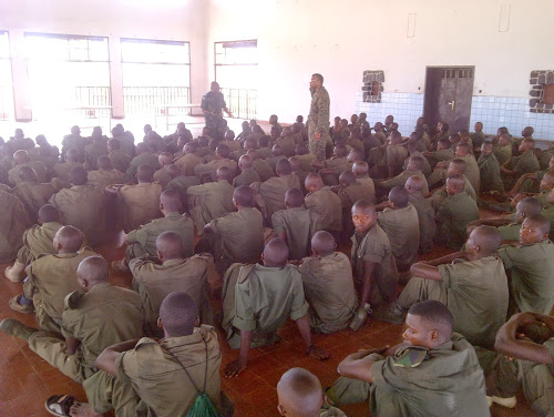 New Recruits of the Armed Forces of FARDC