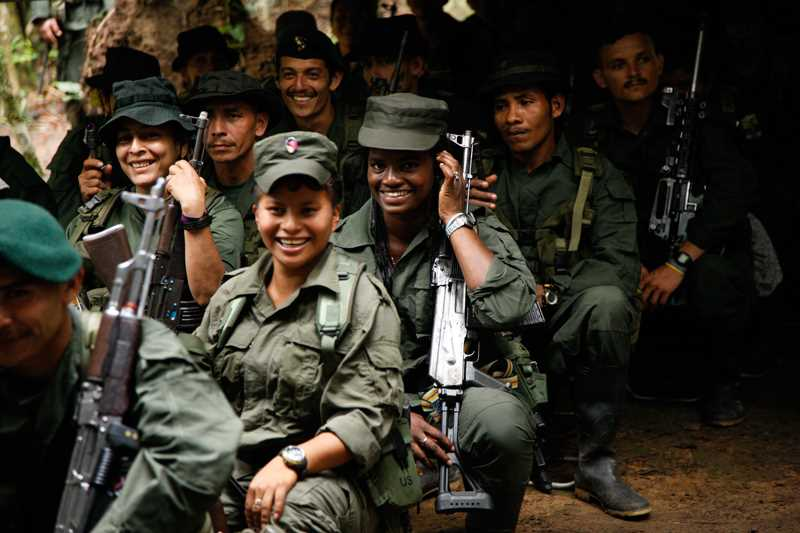 Colombia Revolutionary Forces of FARC Revolutionary Practice
