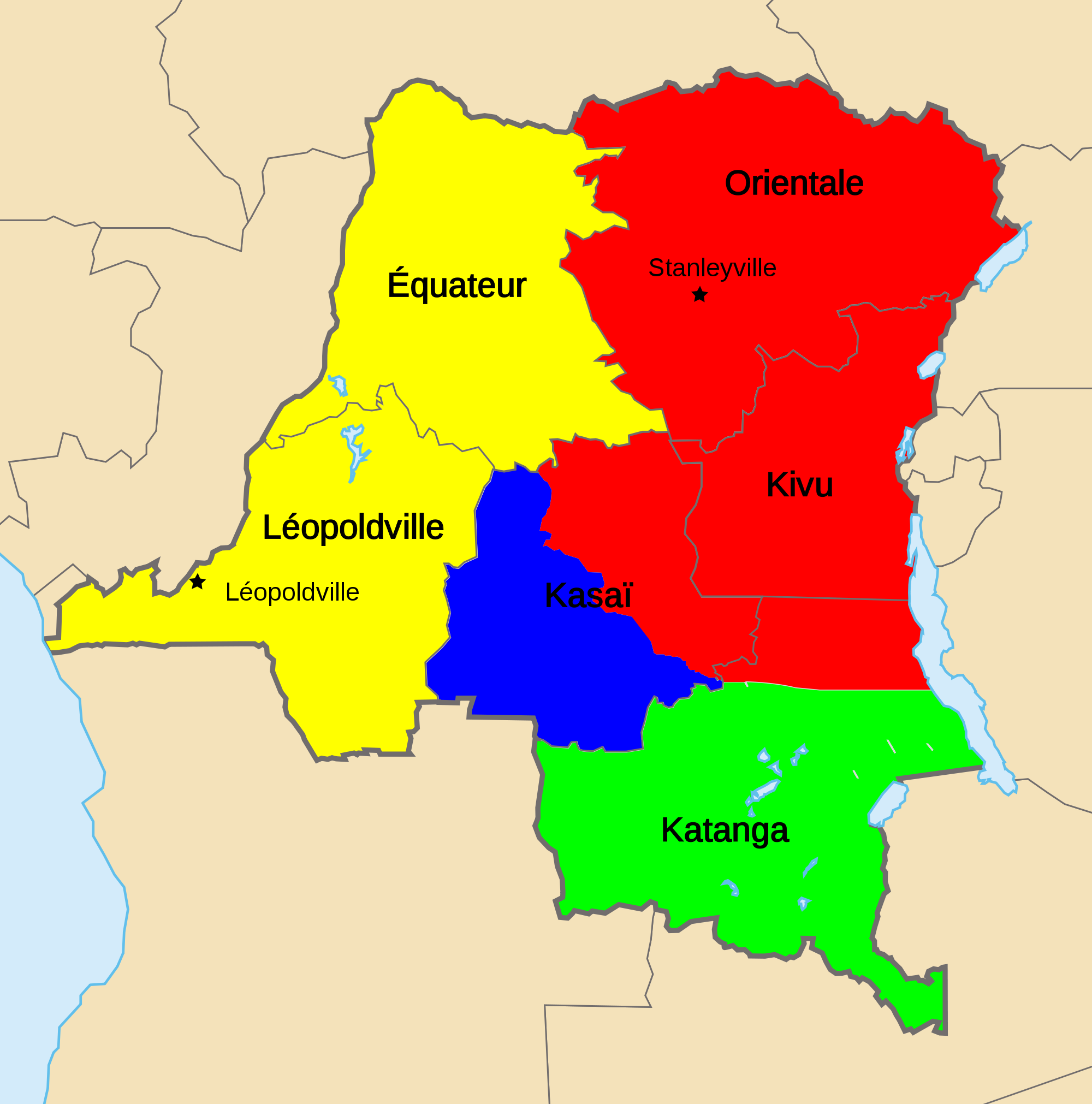 Balkanization of Congo